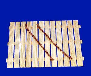 20 cm Messing Kette, 0,8 mm Drahtstärke, 1:48,