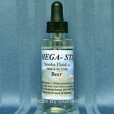 JT's Mega Steam BEER Scented Smoke Fluid Liquid For Proto Train Smoke Units