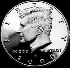 2000 S  Kennedy Mint Silver Proof Half Dollar from Original U.S. Mint Proof Set