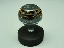 UJ PRK 40 II Knob for Shimano SW Stella Twinpower Saragosa SW reel Gunmetal/Gold