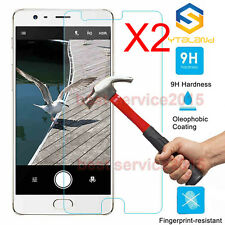 2Pcs 9H+ Premium Tempered Glass Screen Protector For Oneplus Three 3 / 3T