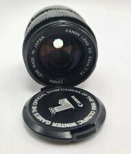 Canon FD 50mm f/1.4 Vintage Prime Lens with Lens cap