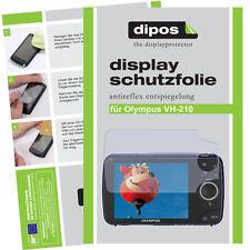2x Olympus VH-210 Schutzfolie matt Displayschutzfolie Antireflex Passgenau
