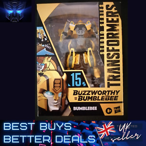 Transformers Buzzworthy Bumblebee 15 Studio Series UK Stock NEW