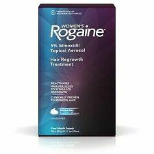 ROGAINE Women`s 5 % Minoxidil Hair Foam - 4 Month Supply Exp: 12/2020