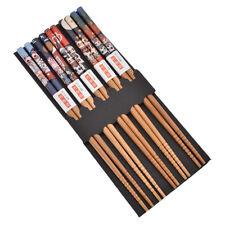Lucky Cat Bamboo Japanese Chopsticks Handmade Tableware Chop Sticks Gift Set
