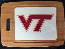NEW NCAA Virginia Tech Bamboo Cutting Board