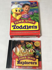 Jump Start Toddlers Learning CD Learn Letters Numbers Shapes New