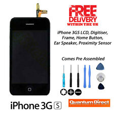 NEW LCD and Digitiser Touch Screen Assembly FREE Tools FOR iPhone 3GS All Models