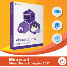 Microsoft Visual Studio 2017 Enterprise, Original, Retail