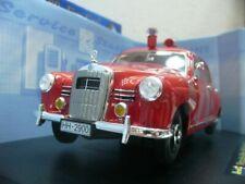 WOW EXTREMELY RARE Mercedes W120 180D Ponton 1955 Fire Hamburg 1:18 Revell-W123