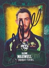 Autographed Cricket Trading Cards 2017 Season