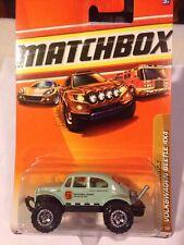 Matchbox 2010 # 91 Volkswagen Beetle 4X4 Seafoam Green National Parks NOC