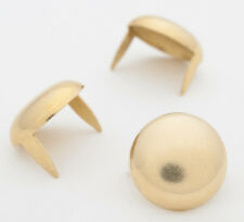 "Large Brass Dome Studs 16mm (5/8"") Bag of 50 for denim & leather StudsAndSpikes"