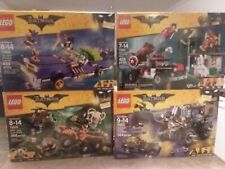 ULTIMATE SEALED BATMAN MOVIE LEGO LOT 70906 THE JOKER NOTORIOUS LOWRIDER HARLEY