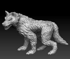 28mm Dire Wolf D&D Onmioji