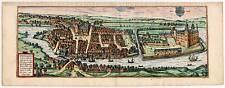 Haderslev-Hadersleben-Haderslebia Kupferstich aus Braun & Hogenberg 1588