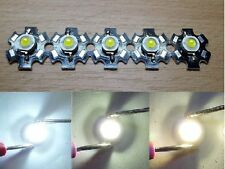 5x 3W High Power LED ca.1000lm 700ma auf Star-Platine KALTWEISS 10000k Licht