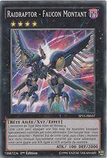 ♦Yu-Gi-Oh!♦ Raidraptor - Faucon Montant/Rise Falcon : SP15-FR037 -VF/COMMUNE-