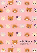 San-X Rilakkuma Relax Bear 5 Design Memo Pad #33 (Cat)