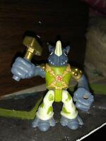 TMNT Half Shell Heroes ROCKSTEADY figure Rock Steady Teenage Mutant Ninja Turtle