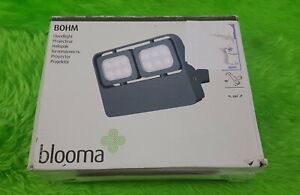 External Security Light 1100 Lumens LM 6.5W Mains LED New Blooma Grey Floodlight