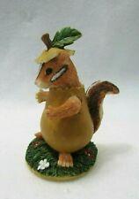 Fitz & Floyd Charming Tails Figurine (Chauncey`S Costume) Chipmunk 87431