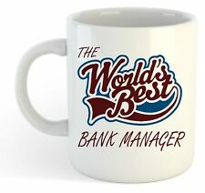 The Worlds Best Bank Manager Mug