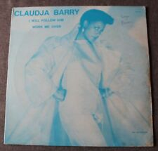 Claudja Barry, i will follow him / work me over, Maxi Vinyl