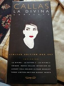 Callas La Divina Limited Edition CD Box Set Unplayed