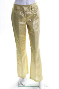 Dolce /& Gabbana D/&G Women/'s Burgundy Flared Stretch Jeans