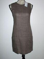 KRIZIA Linen/Silk Sleeveless Sheath Dress- Size 42-Italy-NWT