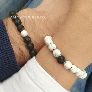 Long Distance Cute Gift Couples Matching Bracelets His Hers Love Relationship