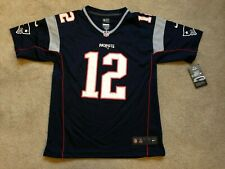 Nike NEW Tom Brady New England Patriots YOUTH NFL Jersey NWT MSRP $75 Large L