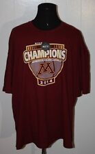 2014 Minnesota Gophers Basketball NIT Champions Tee Shirt 5XL w/tags
