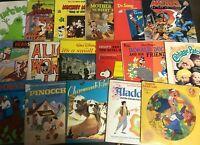 (6) Children Kids Record Mixed LOT 1960-80s VG Disney Peter Pan TV Movie Cartoon