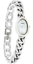 Pulsar By Seiko Silver-Tone Bracelet Mother of Pearl Women's Watch PEG703