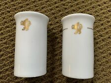 Cunard line Salt & Pepper Shakers