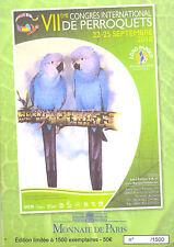 67 WEITBRUCH Encart 6 pièces 7ème Congrès de Perroquets, 2010, Monnaie de Paris