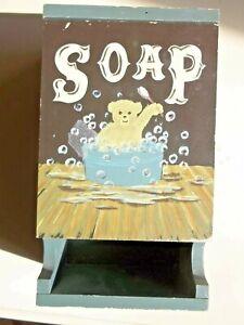 Retro Wooden Bathroom Decorative Soap Holder