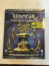 VINTAGE Unreal Tournament: Game of The Year PC Big Box