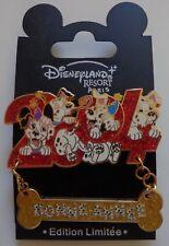 Disney Dlrp Bonne année 2004 Happy New Year 2004 101 Dalmatians Pin Le 1200