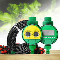 Micro Drip Irrigation Garden System Hose Water Automatic Spray Greenhouse Kit