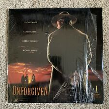 Unforgiving Widescreen Laserdisc - Clint Eastwood