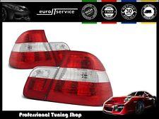 NUOVO COPPIA FANALI FARI POSTERIORI LAMPS LTBM22 BMW E46 09.01-03.05 RED WHITE