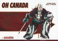 2003-04 ITG Action Hockey Oh Canada #OC-8 Jean-Sebastien Giguere Anaheim Ducks