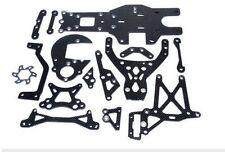 Baja upgrade parts,Carbon Fiber Package set fit HPI KM ROVAN BAJA 5B 5T 5SC