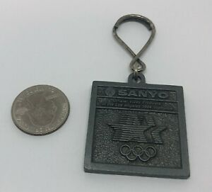 Sanyo Stanlee Distributors Los Angeles Olympic Metal Key Ring Keychain