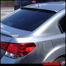 Rear Roof Spoiler Window Wing (Fits: Subaru Legacy 2010-14) 284R SpoilerKing