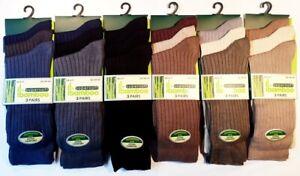 3 Pairs Men's Coloured Summer Luxury Bamboo Super Soft Anti Bacterial Socks 6 11
